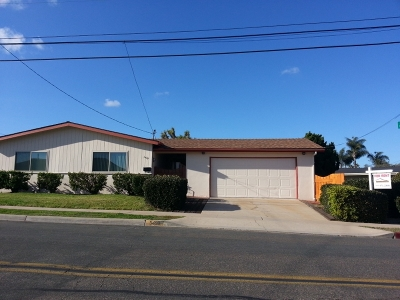 Clairemont Single Family Home For Sale: 5490 Via Alcazar
