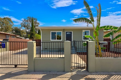 San Diego Single Family Home For Sale: 4551 F St