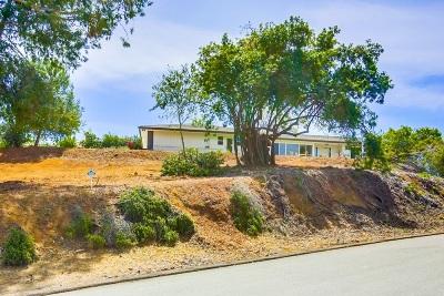 Escondido CA Single Family Home For Sale: $979,000