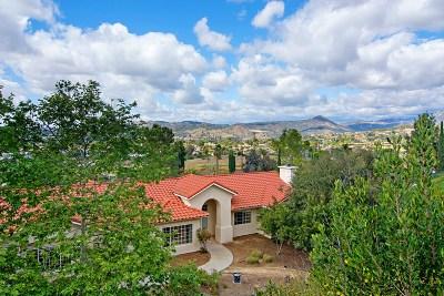 Escondido CA Single Family Home For Sale: $799,000