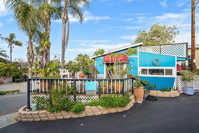 Leucadia CA Mobile/Manufactured For Sale: $349,000