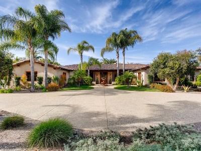 Single Family Home For Sale: 6320 El Sicomoro