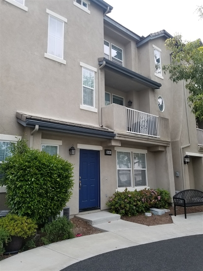 Chula Vista Townhouse For Sale: 1646 Sweet Gum