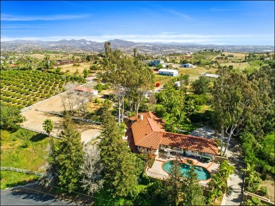 San Diego County Single Family Home For Sale: 560 Puerta De Lomas