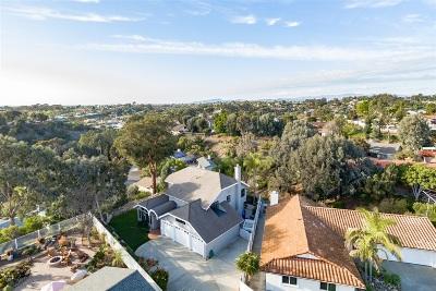 Oceanside Single Family Home For Sale: 1445 Faith Circle