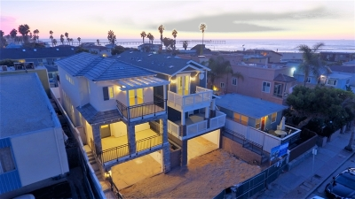 Ocean Beach, Ocean Beach/Point Loma, Ocean Obeach Single Family Home For Sale: 5109 Brighton Ave