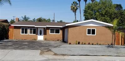 San Marcos CA Single Family Home For Sale: $480,000