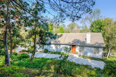 Oceanside,  Carlsbad , Vista, San Marcos, Encinitas, Escondido, Rancho Santa Fe, Cardiff By The Sea, Solana Beach Rental For Rent: 6611 Lago Corte