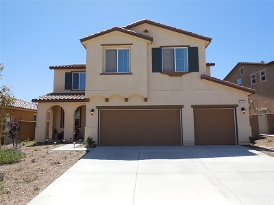 Murrieta CA Single Family Home For Sale: $605,000