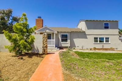Oceanside Single Family Home For Sale: 1014 Washington Ave