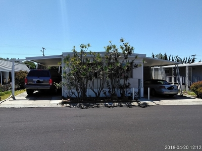 San Diego County Mobile/Manufactured For Sale: 1010 E Bobier Dr #141