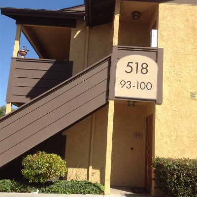 San Diego County Attached For Sale: 518 Calle Montecito #98