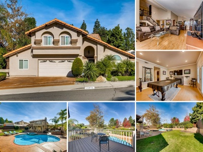 Poway Single Family Home For Sale: 13976 Country Creek Road