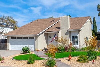 San Diego County Single Family Home For Sale: 10803 Singletree