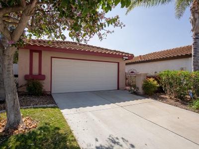 Oceanside Single Family Home For Sale: 4781 Mayten Ct