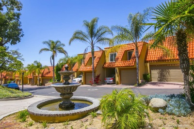 University Heights, University Heights/Hillcrest, University Heights/North Park Townhouse For Sale: 4420 Caminito Fuente
