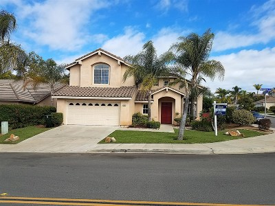 San Marcos Single Family Home For Sale: 1597 Berkshire Ct