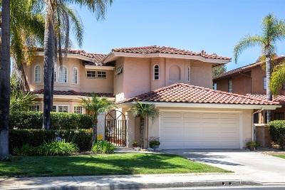 Rancho Santa Fe Single Family Home For Sale: 5272 Caminito Providencia