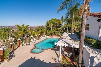 San Diego Single Family Home For Sale: 4421 Yerba Santa Drive