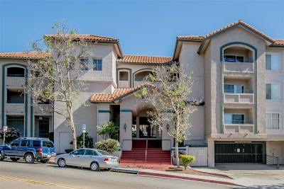 San Diego Attached For Sale: 3078 Broadway #316