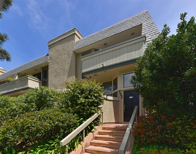La Jolla Townhouse For Sale: 7997 Caminito Del Cid