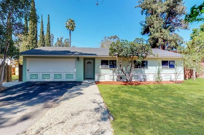Escondido Single Family Home For Sale: 3117 Mode Drive
