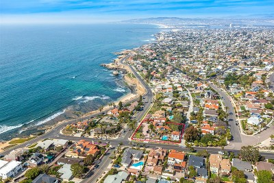 San Diego Single Family Home For Sale: 1007 Cordova