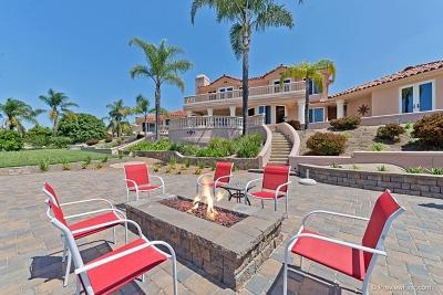 Escondido Single Family Home For Sale: 10282 High Mountain Dr.