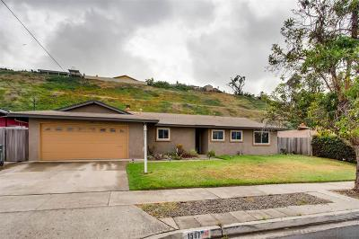 Single Family Home For Sale: 1507 Angelus
