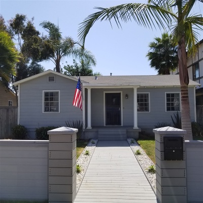 Carlsbad Single Family Home For Sale: 2943 Jefferson