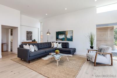Solana Beach Single Family Home For Sale: 747 S Cedros Ave