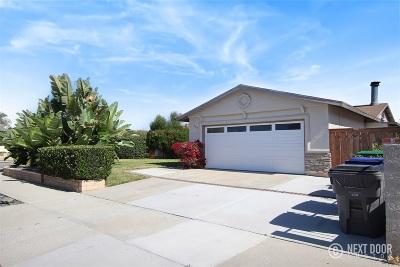 Oceanside Single Family Home For Sale: 753 Arthur Ave