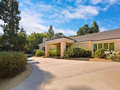 La Jolla Single Family Home For Sale: 6887 Avenida Andorra