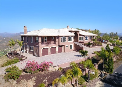 el cajon Single Family Home For Sale: 1423 Vista Sierra Dr