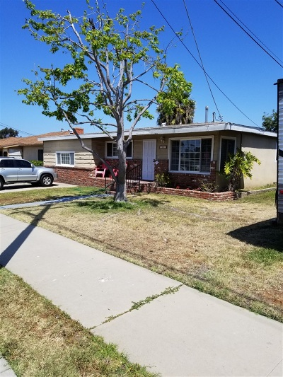 Single Family Home For Sale: 1801 Delta St