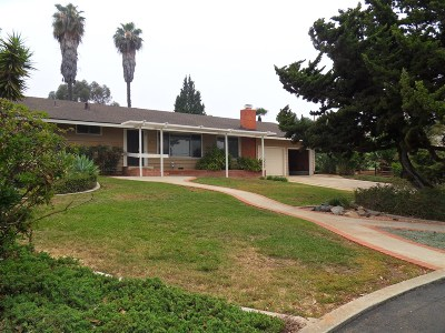 Vista Single Family Home For Sale: 2265 Warmlands