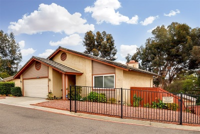 Escondido Single Family Home For Sale: 1689 Madrone Gln