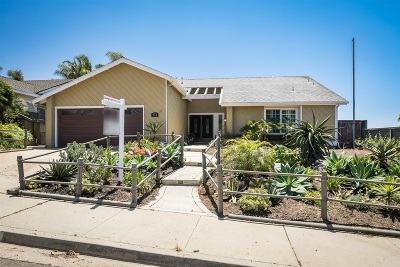 Carlsbad Single Family Home For Sale: 923 Daisy Ave