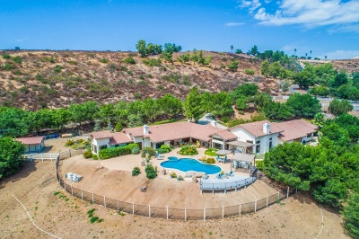 Poway Single Family Home For Sale: 13807 Millards Ranch Ln