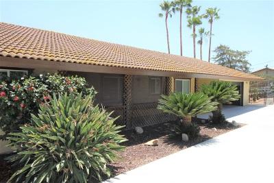 Valley Center Single Family Home For Sale: 14845 Vesper