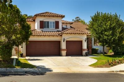 San Marcos Single Family Home For Sale: 1997 Hazelnut Ct.