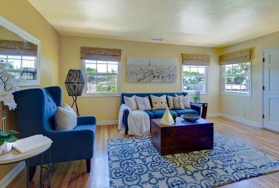 La Mesa Single Family Home For Sale: 4021 King St.