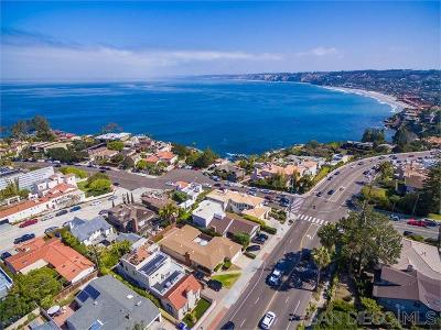 La Jolla Single Family Home For Sale: 1466 Torrey Pines Rd