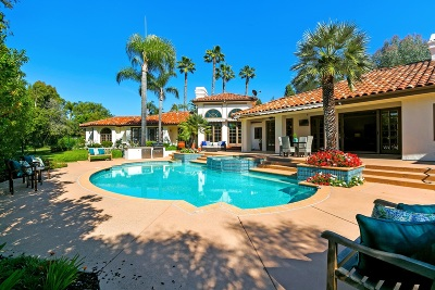 Rancho Santa Fe Single Family Home For Sale: 16874 Circa Del Sur