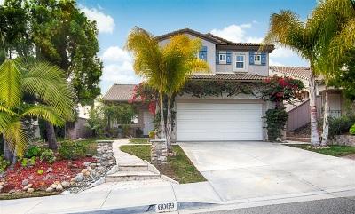 Carlsbad Single Family Home For Sale: 6069 Paseo Monona