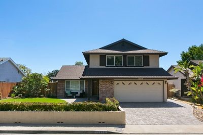 Rancho Penasquitos, Rancho Penesquitos Single Family Home For Sale: 13816 Paseo Zaldivar