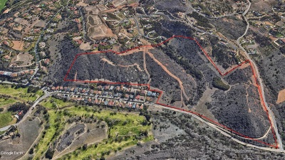 Bonsall Residential Lots & Land For Sale: 89.88 Acres Old River Rd #2