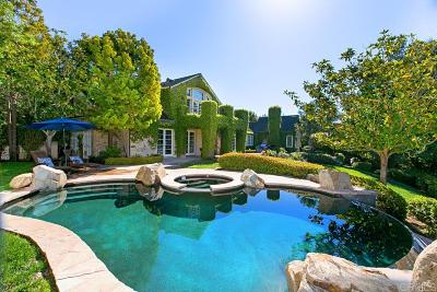Rancho Santa Fe Single Family Home For Sale: 6171 Clubhouse Drive