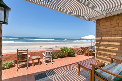 Del Mar Single Family Home For Sale: 2306 Ocean Front