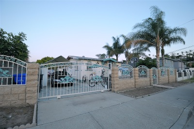 San Diego Single Family Home For Sale: 2027 S 42nd St